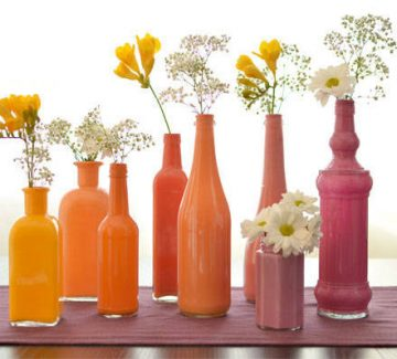 DIY Le vase bouteille