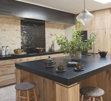 Du bois dans la cuisine