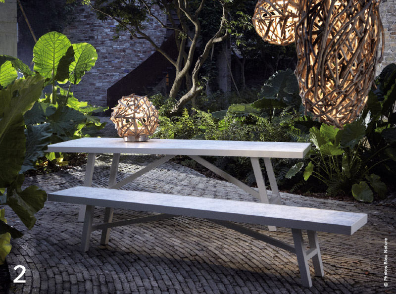 Outdoor : mobilier de jardin, l\'âme nature - TRAITS D\'CO Magazine