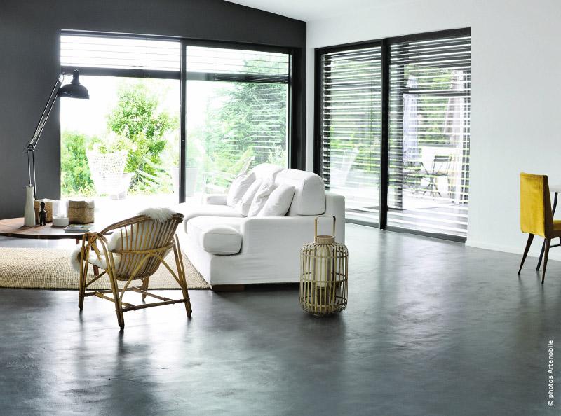 le b ton cir cr ateur d effets d co traits d 39 co magazine. Black Bedroom Furniture Sets. Home Design Ideas