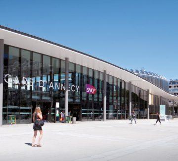 Annecy – Le quartier de la gare