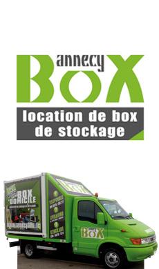 Annecy box, location de bos de stockage