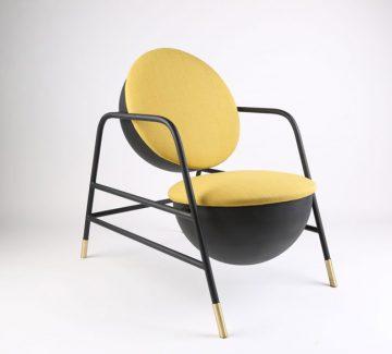 Le fauteuil Indolente du studio Caramel