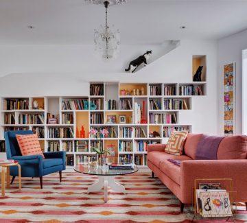 À Brooklyn, la maison des livres et des chats