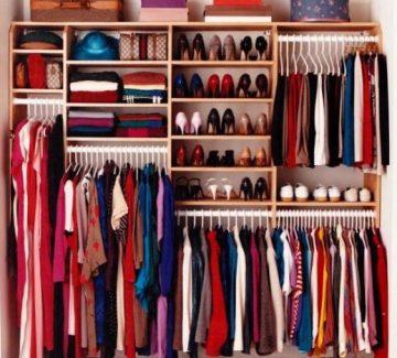L'aménagement de votre dressing