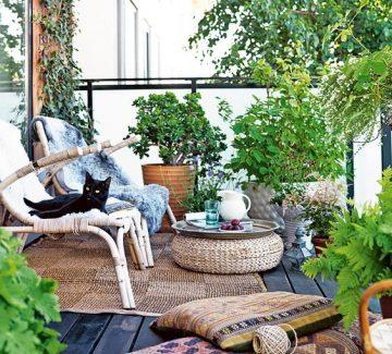 Un balcon cocooning