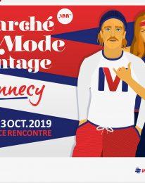1ère édition du Marché de la mode vintage à Annecy