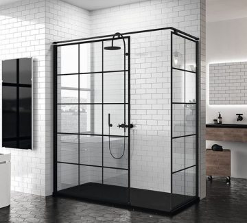Une verrière pour ma douche