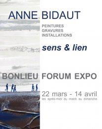 Exposition – Anne Bidaut