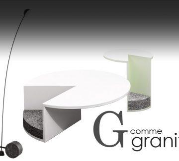 ABCD'ère du design : G comme granit
