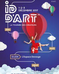5ème édition d'ID d'ART en région Bourgogne – déc 2017