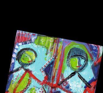 Une peinture à la force créatrice