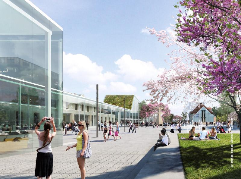 D couvrez le projet en cours pour la gare d 39 annemasse for Architecte annemasse