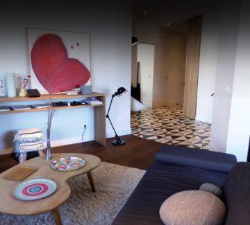 Au cœur d'Annecy : un appartement qui exhibe ses rondeurs