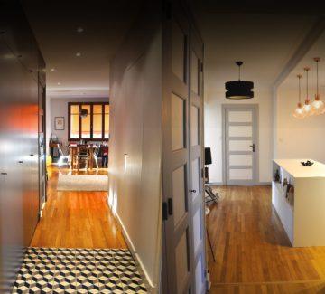 2 Transformations : Appartements jumeaux