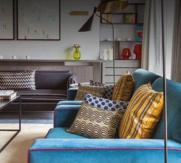 Appartement avenue Montaigne : La touche française qui fait mouche