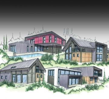 """Construction de maisons écologiques : le principe """"ossature"""""""