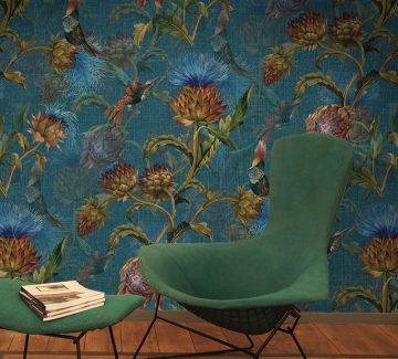 Interview «mur-mur» avec Pascale Risbourg, designer de papiers peints