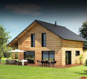 Maison ossature bois : le bonheur est dans le bois !