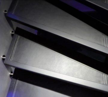 Des escaliers tels des œuvres d'art