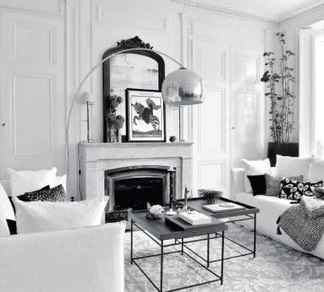À Lyon, un appartement nimbé de tons clairs