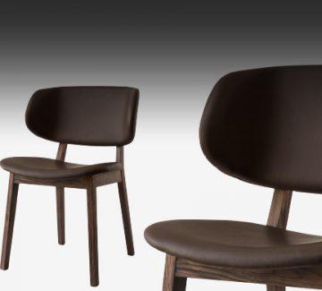 Chaises Calligaris : le confort bois ou métal