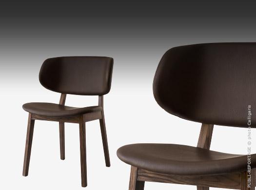 chaises calligaris le confort bois ou m tal traits d 39 co magazine. Black Bedroom Furniture Sets. Home Design Ideas
