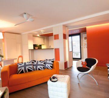 Rénovation habitat : dans un T2 à Annecy, on repart de zéro !