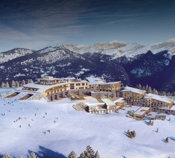 Un village entre montagne et modernité