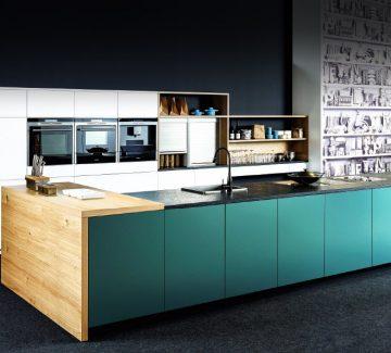 Une cuisine design et fonctionnelle