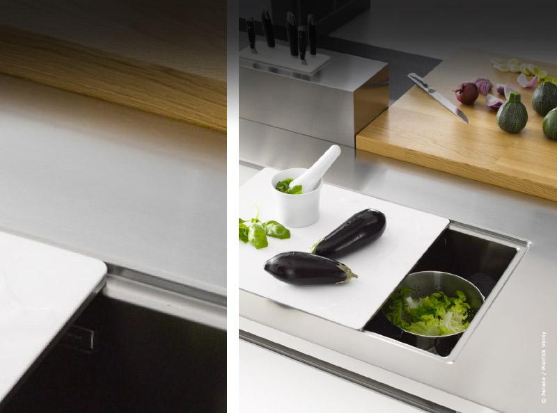 cuisine comment choisir un vier aussi pratique que tendance. Black Bedroom Furniture Sets. Home Design Ideas