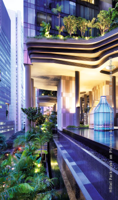 Decoration-et-design--Hotel-Parkroyal-on-Pickering-Singapour