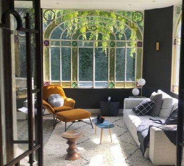 Décoration et design contemporain : écrin Belle Époque dans le Rhône