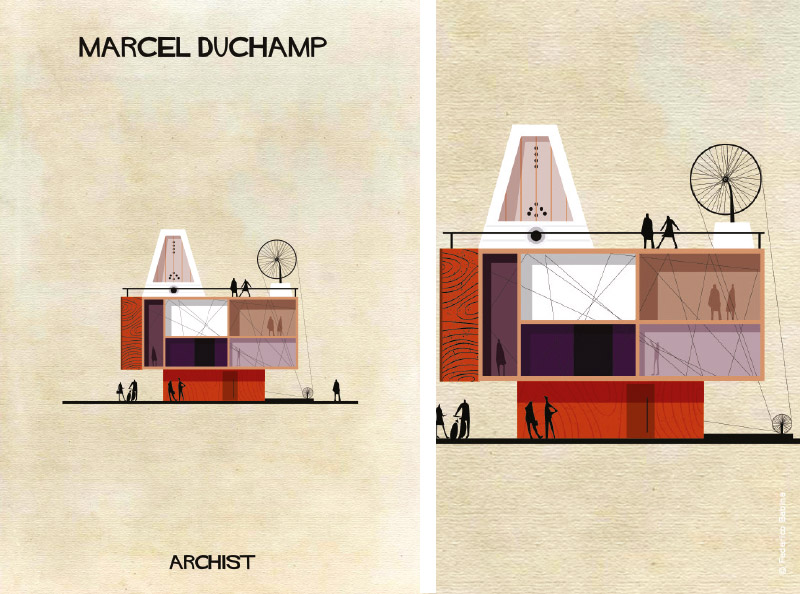 Federico Babina architecte illustrateur