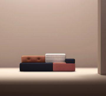 Le Combo Sofa par le Studio Frank Chou