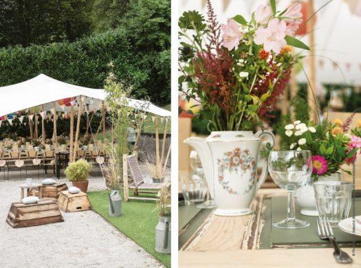 Garden-party chic et champêtre