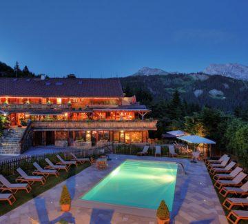 Chalet hôtel : alpage de charme