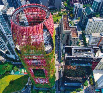 Hôtel Oasia : nature et design à Singapour