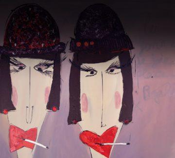 Johana Derepas, artiste peintre : une si sensuelle provocation