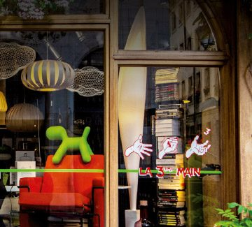 La troisième main du design : concept store à Genève