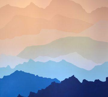 Idée décochambre : DIY, un mur tel un paysage