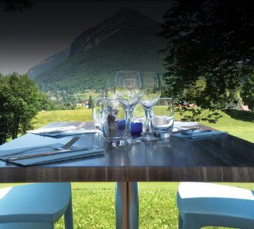 Restaurant Le Mulligan, Talloires : en vert et pour tous !