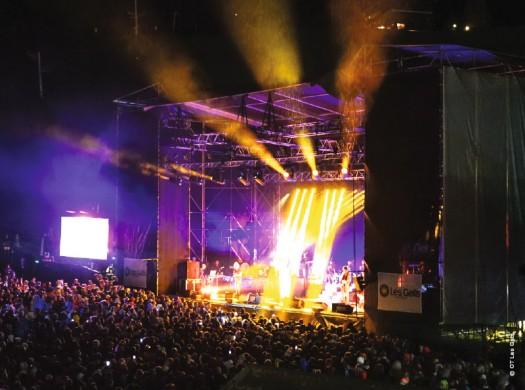 Les Gets : concert du Mont-Chéry