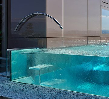 Mini piscine design
