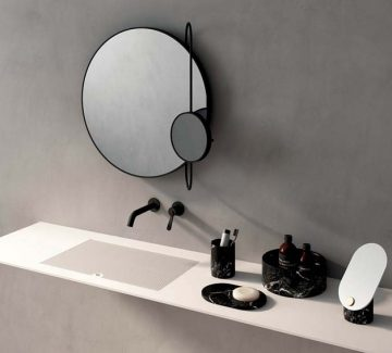 Salles de bains pures et épurées