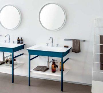 Salle de bains : jolies formes