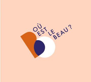 Portrait design d'Hélène, créatrice du podcast Où est le beau?