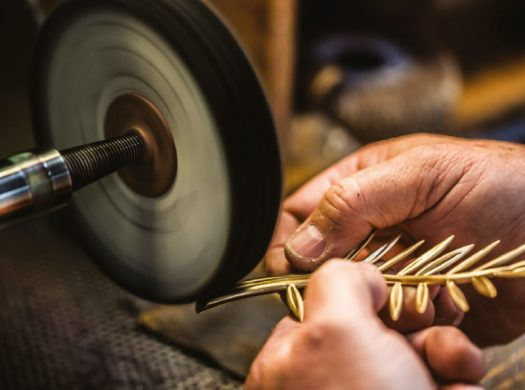 Palme d'or fabrication