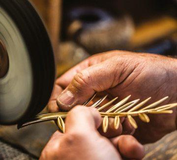 La Palme d'or, un travail d'orfèvre