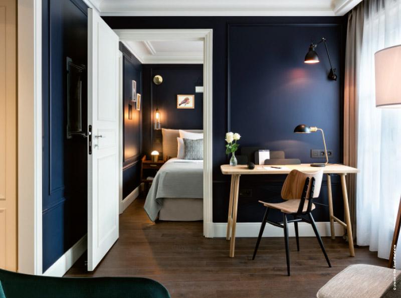 Paris hôtel cosy